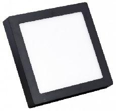 Đèn Led ốp trần vuông đen 24w