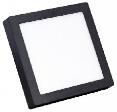 Đèn Led ốp trần vuông đen 6W