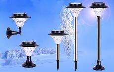 Trụ đèn sân vườn năng lượng mặt trời