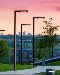 Cột đèn chiếu sáng sân vườn CD32