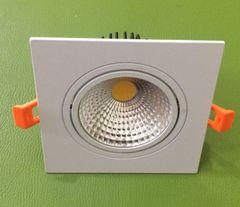 Đèn Led downlight âm trần mặt vuông đơn 7w