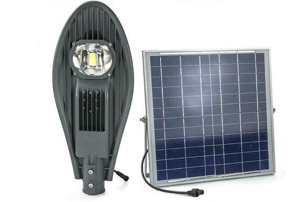 Đèn đường 50w năng lượng mặt trời