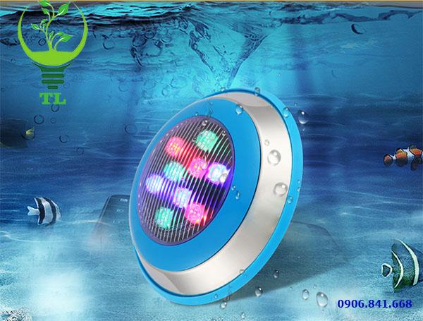 Đèn led bể bơi đổi màu 12w chiếu sáng hồ bơi
