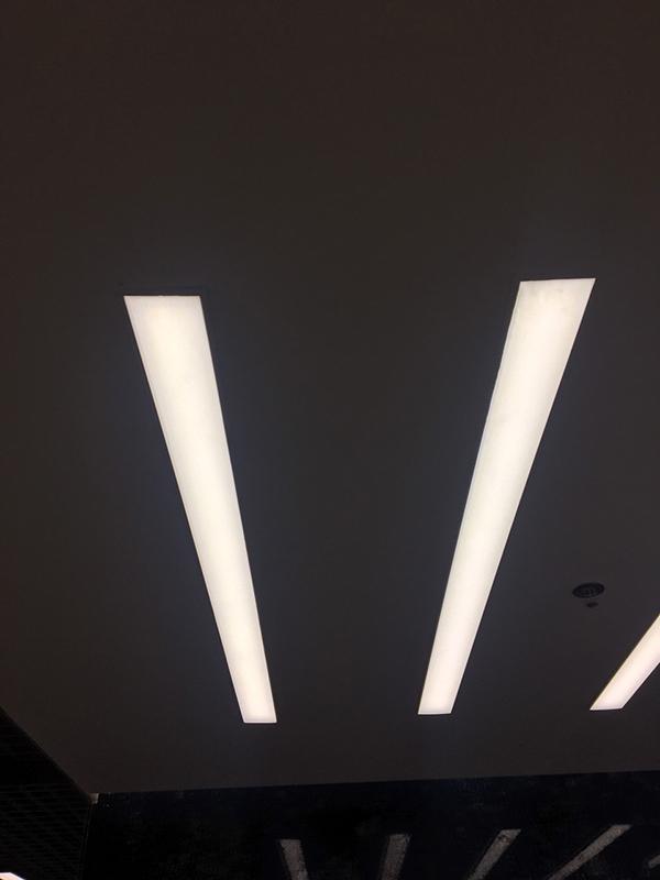 Đèn led thanh âm trần văn phòng 1m2