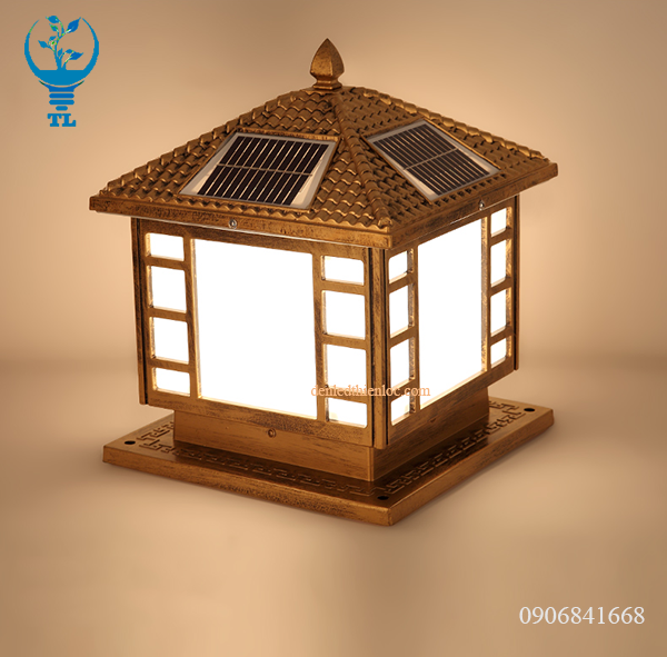 Đèn trụ cổng rào năng lượng mặt trời TL85